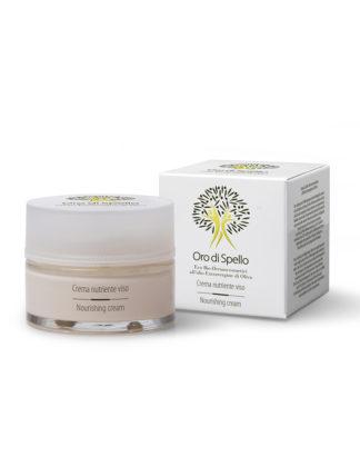 crema nutriente viso oro di spello