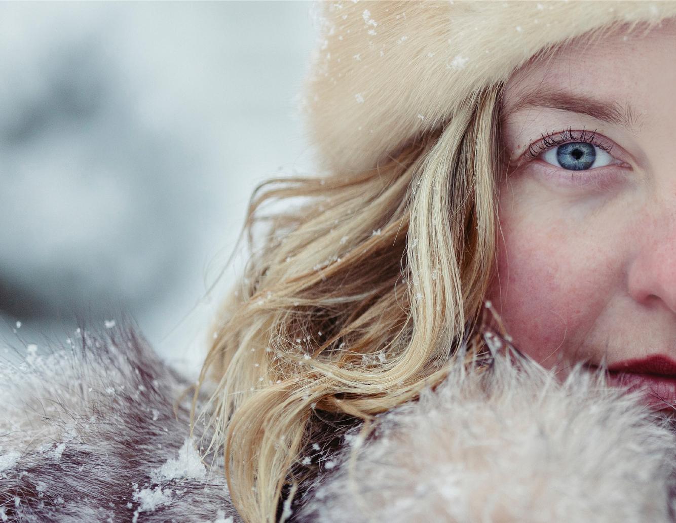 foto pelle in inverno oro di spello