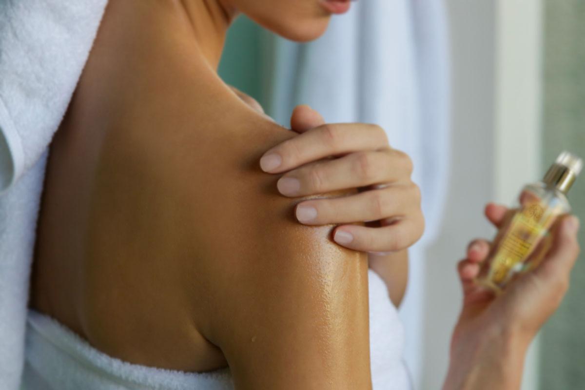 benefici dell'olio d'oliva sulla pelle